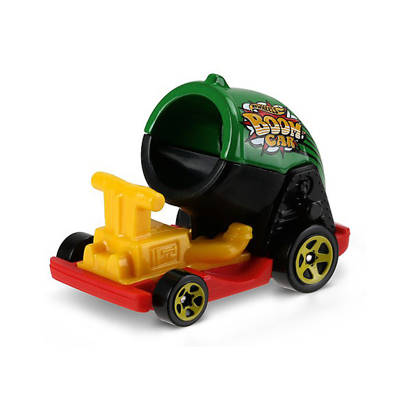 Базовая машинка Mattel Hot Wheels, Boom CarПопулярные игрушки<br>Характеристики:<br><br>• возраст: от 3 лет;<br>• материал: металл, пластмасса;<br>• вес упаковки: 30 гр.;<br>• размер упаковки: 11х4х11 см;<br>• тип упаковки: блистерный;<br>• страна бренда: США.<br><br>Пушка Hot Wheels от Mattel входит в группу моделей базовой коллекции. Миниатюры этой серии изображают реальные автомобили, спорткары, фургоны, мотоциклы в масштабе 1:64, а также модели с собственным оригинальным дизайном. Собрав свою линейку машинок, ребенок сможет устраивать заезды, гонки и меняться экземплярами с друзьями.<br><br>Монолитные элементы игрушки увеличивают ее прочность. Падение и столкновение с твердыми предметами во время игр не отражается на внешнем виде и ходе машинки. Кузов отчетливо детализирован, покрыт стойкими насыщенными красками. Колеса легко вращаются вокруг своей оси.<br><br>Игрушка выполнена из качественных материалов, сертифицированных по стандартам безопасности для использования детьми.<br><br>Машинку Hot Wheels из базовой коллекции можно купить в нашем интернет-магазине.<br>Ширина мм: 110; Глубина мм: 45; Высота мм: 110; Вес г: 30; Возраст от месяцев: 36; Возраст до месяцев: 96; Пол: Мужской; Возраст: Детский; SKU: 7191344;