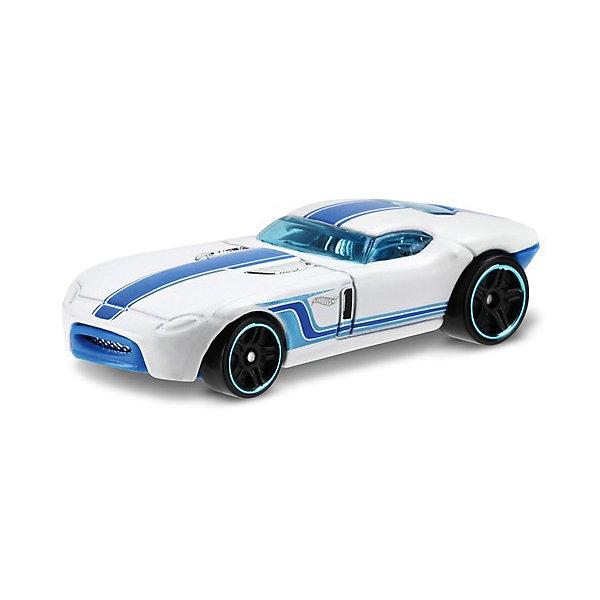 Машинка Hot Wheels из базовой коллекцииПопулярные игрушки<br>Характеристики:<br><br>• возраст: от 3 лет;<br>• материал: металл, пластмасса;<br>• вес упаковки: 30 гр.;<br>• размер упаковки: 11х4х11 см;<br>• тип упаковки: блистерный;<br>• страна бренда: США.<br><br>Машинка Hot Wheels от Mattel входит в группу моделей базовой коллекции. Миниатюры этой серии изображают реальные автомобили, спорткары, фургоны, мотоциклы в масштабе 1:64, а также модели с собственным оригинальным дизайном. Собрав свою линейку машинок, ребенок сможет устраивать заезды, гонки и меняться экземплярами с друзьями.<br><br>Монолитные элементы игрушки увеличивают ее прочность. Падение и столкновение с твердыми предметами во время игр не отражается на внешнем виде и ходе машинки. Кузов отчетливо детализирован, покрыт стойкими насыщенными красками. Колеса легко вращаются вокруг своей оси.<br><br>Игрушка выполнена из качественных материалов, сертифицированных по стандартам безопасности для использования детьми.<br><br>Машинку Hot Wheels из базовой коллекции можно купить в нашем интернет-магазине.<br>Ширина мм: 110; Глубина мм: 45; Высота мм: 110; Вес г: 30; Возраст от месяцев: 36; Возраст до месяцев: 96; Пол: Мужской; Возраст: Детский; SKU: 7191347;
