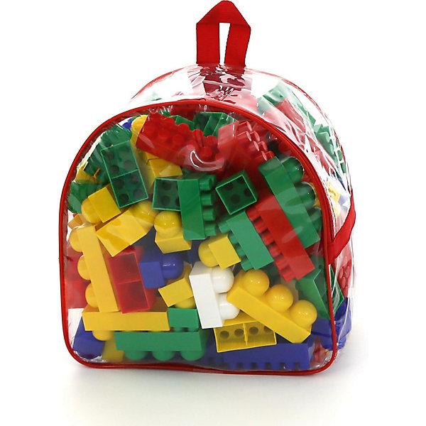 Конструктор Полесье Супер-Микс, 144 детали (в рюкзаке)Пластмассовые конструкторы<br>Характеристики товара:<br><br>• возраст: от 3 лет;<br>• цвет: мультиколор;<br>• количество элементов: 144 шт.;<br>• материал: пластик;<br>• размер упаковки: 30x20x30 см.;<br>• упаковка: прозрачный рюкзак;<br>• наименование бренда, страна бренда: Полесье, Беларусь;<br>• страна изготовитель: Беларусь.<br><br>Конструктор «Супер-Микс» от торговой марки Полесье - необходимая игрушка в любой детской комнате, которая надолго займет внимание вашего ребенка. Это превосходная возможность для ребенка с интересом и пользой провести время. <br><br>Комплект включает в себя 144 детали, которые хранятся в компактном прочном прозрачном рюкзачке. При необходимости его всегда можно взять с собой в поездку.<br><br>Элементы набора изготовлены из качественной и прочной пластмассы, безопасной для здоровья ребенка. Яркие и красочные детали прекрасно подойдут для свободного конструирования и подарят безграничный простор для фантазии.<br><br>Игра с конструктором развивает образное и пространственное мышления, стимулирует фантазию и творческое воображение, организаторские навыки и речь.<br><br>Конструктор «Супер-Микс», 144 элемента в в рюкзаке, Полесье можно купить в нашем интернет-магазине.<br><br>Ширина мм: 300<br>Глубина мм: 200<br>Высота мм: 300<br>Вес г: 1333<br>Возраст от месяцев: 12<br>Возраст до месяцев: 36<br>Пол: Унисекс<br>Возраст: Детский<br>SKU: 7191527