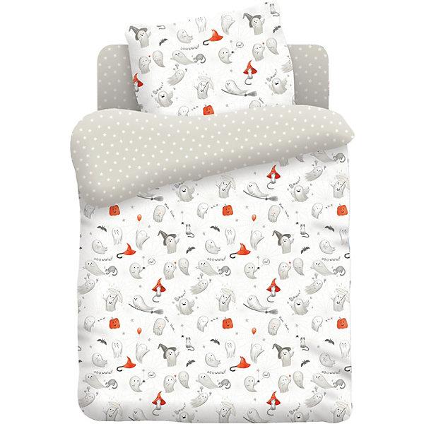 Детское постельное белье 3 предмета Непоседа Добрые привиденияПостельное белье в кроватку новорождённого<br>Характеристики:<br><br>• тип: постельное белье;<br>• возраст: от 0 лет;<br>• вес:  600 гр; <br>• материал: 100% хлопок (бязь);<br>• пододельяник: 145х110 см;<br>• простынь: 150х110 см;<br>• наволочка: 40х60 см (1 шт);<br>• размер: 25х25х8 см;<br>• страна бренда: Россия;<br>• бренд: Непоседа.<br><br>Детское постельное белье 3 предмета «Добрые привидения» Непоседа - это комплект, который состоит из 100% хлопка, поэтому подходит даже для самых маленьких детей. Разнообразие расцветок поможет подобрать именно ту, которая понравится ребёнку и сделает его спальное место комфортным и уютным. <br><br>Благодаря современным технологиям окраски, простыни не теряют свой цвет даже после множества стирок, комплект не теряет форму, легко гладится. Детское постельное бельё проходит строгую систему контроля качества и соответствует всем нормам механической, химической и биологической безопасности. Такое постельное белье мягкое, нежное, гипоаллергенное, быстро впитывает влагу<br><br>Детское постельное белье 3 предмета «Добрые привидения» Непоседа можно купить в нашем интернет-магазине.<br>Ширина мм: 250; Глубина мм: 250; Высота мм: 80; Вес г: 600; Возраст от месяцев: 0; Возраст до месяцев: 36; Пол: Унисекс; Возраст: Детский; SKU: 7191694;