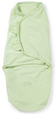 Summer Infant Конверт на липучке Swaddleme, размер S/M, зеленый