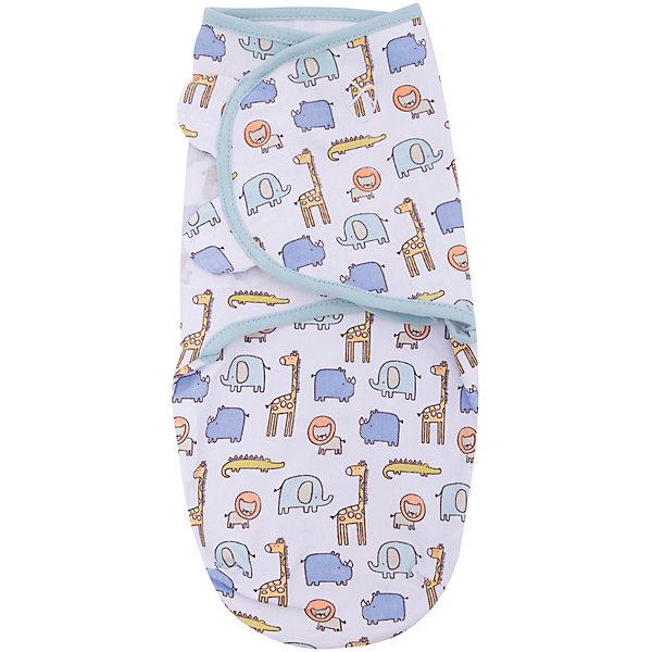 Конверт на липучке Swaddleme, размер S/M, сафариКонверты для пеленания<br>Пеленание успокаивает новорожденных путем воссоздания знакомых ему чувств, как в утробе мамы. <br>Мягко облегая, конверт не ограничивает движение ребенка, и в тоже время помогает снизить рефлекс внезапного вздрагивания, благодаря этому сон малыша и родителей будет более крепким. <br>Регулируемые крылья для закрытия конверта сделаны таким образом, что даже самый активный ребенок не сможет распеленаться во время сна. <br>Объятия крыльев регулируются по мере роста ребенка. <br>Конверт можно открыть в области ног малыша для легкой смены подгузников - нет необходимости разворачивать детские ручки. <br>Два размера на выбор!<br>Состав: хлопок и нити эластана <br>Длина конверта (размера S): 50 см<br>Ширина мм: 150; Глубина мм: 220; Высота мм: 30; Вес г: 136; Возраст от месяцев: 0; Возраст до месяцев: 6; Пол: Унисекс; Возраст: Детский; SKU: 7191954;