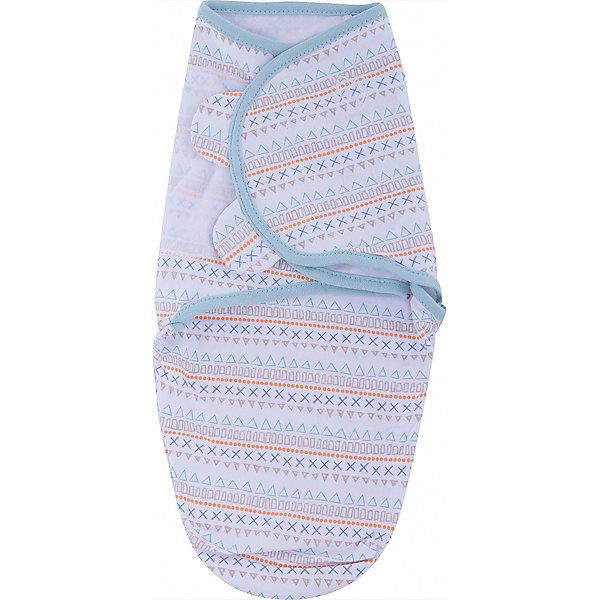 Конверт на липучке Swaddleme, размер S/M, орнаментКонверты для пеленания<br>Характеристики:<br><br>• размер конверта: S/M;<br>• вес ребенка: 3-6 кг;<br>• возраст ребенка: от рождения до 4-х месяцев;<br>• длина конверта: 50 см;<br>• регулируемая система крепления;<br>• тип крепления: на липучке;<br>• регулируемые крылья для закрытия конверта;<br>• размер конверта регулируется под рост и комплекцию ребенка;<br>• открывающийся низ конверта;<br>• материал: 100% хлопок;<br>• состав: хлопок и нити эластана;<br>• допускается стирка при температуре 30 градусов.<br><br>Конверт мягко облегает и не ограничивает движения ребенка. Снижается рефлекс внезапного вздрагивания. Даже самый активный малыш не распеленается во время сна. В области ножек конверт можно открыть, чтобы без труда сменить малышу подгузник. Ребенок при этом остается в конверте, который вовсе не обязательно полностью раскрывать. Удобный конверт из гипоаллергенного материала рекомендуется для пеленания малыша, чтобы обеспечить крепкий спокойный сон.<br><br>Конверт на липучке Swaddleme, размер S/M, орнамент можно купить в нашем интернет-магазине.<br>Ширина мм: 150; Глубина мм: 220; Высота мм: 30; Вес г: 136; Возраст от месяцев: 0; Возраст до месяцев: 6; Пол: Унисекс; Возраст: Детский; SKU: 7191958;