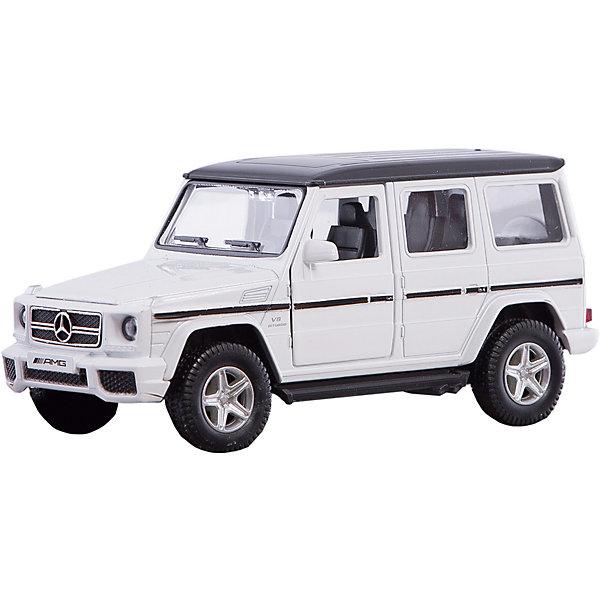 Коллекционная машинка Autotime Mercedes-Benz G63 AMG 5, 1:32Машинки<br>Игрушка транспортная из металла и пластмассы - автомобиль TM Autotime, коробка с окошком, цвет в ассортименте, с инерционным механизмом, открываются передние двери.<br><br>Ширина мм: 165<br>Глубина мм: 70<br>Высота мм: 75<br>Вес г: 217<br>Возраст от месяцев: 36<br>Возраст до месяцев: 2147483647<br>Пол: Мужской<br>Возраст: Детский<br>SKU: 7192712