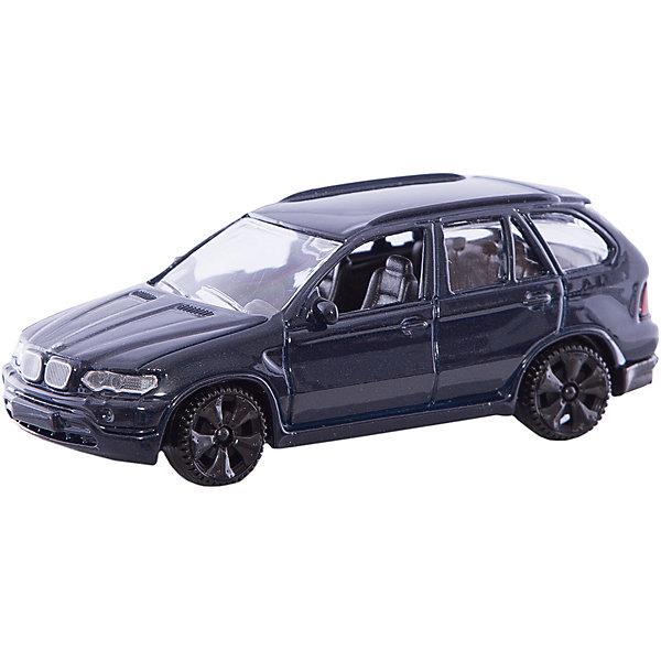 Коллекционная машинка Autotime BMW X5, 1:43Машинки<br>Игрушка транспортная из металла и пластмассы - автомобиль TM Autotime, серия Premium, масштаб 1:43, коробка с окошком, цвет в ассортименте, открываются передние двери.<br><br>Ширина мм: 162<br>Глубина мм: 70<br>Высота мм: 60<br>Вес г: 189<br>Возраст от месяцев: 36<br>Возраст до месяцев: 2147483647<br>Пол: Мужской<br>Возраст: Детский<br>SKU: 7192730