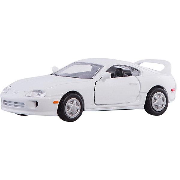 Коллекционная машинка Autotime Toyota Supra, 1:43Машинки<br>Игрушка транспортная из металла и пластмассы - автомобиль TM Autotime, серия Premium, масштаб 1:43, коробка с окошком, цвет в ассортименте, открываются передние двери.<br>Ширина мм: 162; Глубина мм: 70; Высота мм: 60; Вес г: 160; Возраст от месяцев: 36; Возраст до месяцев: 2147483647; Пол: Мужской; Возраст: Детский; SKU: 7192738;