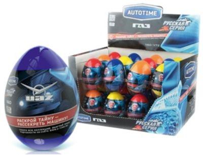 Коллекционная машинка Autotime ГАЗ УАЗ в яйце, 1:60 (в ассортименте)