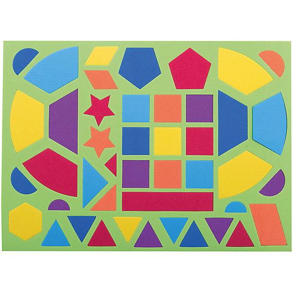 Развивающий конструктор, 44 детали., Kribly BooМягкие конструкторы<br>Игра  развивает воображение и фантазию ребенка. Элементы конструктора позволяют создать безграничное множество форм и силуэтов. В игре можно познакомить ребенка с разными цветами, формами, научить считать. <br>Элементы - на магнитной основе: можно складывать фигуры на любой металлической поверхности (не только на магнитной доске, но, например, и на холодильнике).<br>Ширина мм: 280; Глубина мм: 132; Высота мм: 8; Вес г: 83; Возраст от месяцев: 36; Возраст до месяцев: 2147483647; Пол: Унисекс; Возраст: Детский; SKU: 7192754;