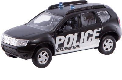 Коллекционная машинка Autotime Renault Duster Перехватчик, 1:38
