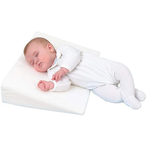 Подушка-позиционер Plantex Rest Easy в кроваткуПодушки<br>Характеристики товара:<br><br>• возраст: с рождения;<br>• материал: полиэстер, хлопок;<br>• наполнитель: полиуретан;<br>• размер подушки: 35х59х9 см;<br>• размер упаковки: 58х37х10 см;<br>• вес упаковки: 410 гр.;<br>• страна производитель: Россия.<br><br>Подушка-позиционер Rest Easy Plantex разработана для колясок и колыбелей. Она приподнимает верхнюю часть тела ребенка во время сна на 15 градусов. Такое положение помогает дыханию, пищеварению, необходимо во время респираторных заболеваний, простуды. Выполнена подушка из безопасных для ребенка гипоаллергенных материалов.<br><br>Подушку-позиционер Rest Easy Plantex можно приобрести в нашем интернет-магазине.<br>Ширина мм: 580; Глубина мм: 370; Высота мм: 100; Вес г: 410; Цвет: белый; Возраст от месяцев: -2147483648; Возраст до месяцев: 2147483647; Пол: Унисекс; Возраст: Детский; SKU: 7193059;