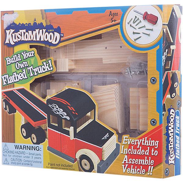 Деревянный конструктор Hurricane KusTomWood ЕврофураДеревянные конструкторы<br>Характеристики:<br><br>• тип игрушки: конструктор;<br>• возраст: от 5 лет;<br>• размер: 32x6х28 см;<br>• вес: 78 гр;<br>• комплектация: металлические болты, отвертка;<br>• упаковка: коробка;<br>• материал: дерево, металл;<br>• бренд:  Hurricane.<br><br>Деревянный конструктор Еврофура подойдет для детей от 5 лет. С помощью этого конструктора ребенок сможет своими руками собрать модель автомобиля. Содержит мелкие детали: не стоит давать конструктор детям до трех лет. <br><br>В комплекте настоящие колеса - конструктор можно будет катать. Готовую модель можно будет раскрасить красками по дереву. Краски в комплект не входят. Все детали конструктора сделаны из фанеры. Детали не окрашены, соединяются благодаря пазам и выступам в них.<br><br>Деревянный конструктор Еврофура можно купить в нашем интернет-магазине.<br>Ширина мм: 320; Глубина мм: 60; Высота мм: 280; Вес г: 78; Возраст от месяцев: 60; Возраст до месяцев: 2147483647; Пол: Унисекс; Возраст: Детский; SKU: 7193447;