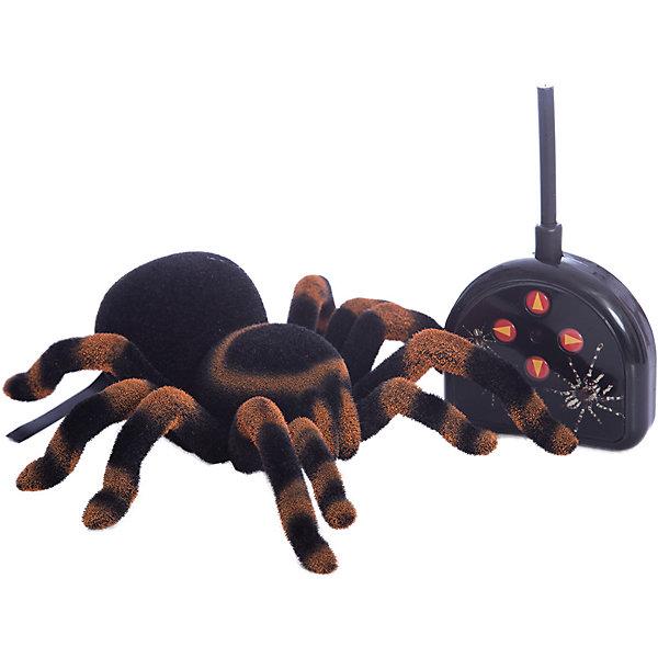 Радиоуправляемый паук Edu-Toys Тарантул, 20 смИнтерактивные животные<br>Характеристики:<br><br>• тип игрушки: паук;<br>• возраст: от 8 лет;<br>• размер: 33x10x17 см;<br>• вес: 95  гр;<br>• упаковка: коробка;<br>• материал: пластик;<br>• бренд:  Edu-Toys.<br><br>Паук Р/У подойдет для детей от восьми лет и старше. Этот тарантул на радиоуправлении изготовлен в натуральную величину. Он выглядит как настоящий тарантул и что самое интересное – передвигается как самый настоящий паук! Паук может двигаться в любую сторону по любой гладкой поверхности и способен преодолеть расстояние до 8 метров. <br><br>Длина паука около 20 см, он двигается во все стороны и  может поворачиваться. Дистанционное управление адаптировано к детской руке. Радиус его действия равен 8 м.Игрушка рассчитана на детишек, которые любят подшучивать над своими друзьями, пугая их. В комплекте есть пульт и инструкция. <br><br>Паука Р/У можно купить в нашем интернет-магазине.<br>Ширина мм: 330; Глубина мм: 100; Высота мм: 170; Вес г: 95; Возраст от месяцев: 96; Возраст до месяцев: 2147483647; Пол: Мужской; Возраст: Детский; SKU: 7193475;