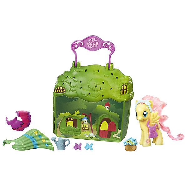 Мини-игровой набор, My little Pony, HasbroИгровые наборы с фигурками<br>Характеристики товара:<br><br>• возраст: от 3 лет;<br>• материал: пластик;<br>• в комплекте: фигурка пони, домик, аксессуары;<br>• размер упаковки: 27,9х6,4х6,4 см;<br>• вес упаковки: 310 гр.;<br>• страна производитель: Китай.<br><br>Мини-игровой набор My Little Pony Hasbro создан по мотивам популярного мультсериала «Мой маленький пони». В набор входит фигурка персонажа, ее домик и аксессуары, которые помогут разнообразить игровой процесс. Домик выполнен в виде чемоданчика. Он открывается, и внутрь помещаются все предметы. Сверху ручка, за которую домик удобно переносить. Игрушка выполнена из качественных безопасных материалов.<br><br>Мини-игровой набор My Little Pony Hasbro можно приобрести в нашем интернет-магазине.<br>Ширина мм: 64; Глубина мм: 279; Высота мм: 64; Вес г: 310; Возраст от месяцев: 36; Возраст до месяцев: 120; Пол: Женский; Возраст: Детский; SKU: 7193654;