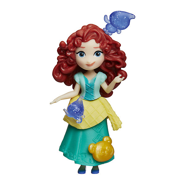 Мини-кукла, Принцессы Дисней, HasbroКуклы<br><br>Ширина мм: 176; Глубина мм: 152; Высота мм: 63; Вес г: 100; Возраст от месяцев: 48; Возраст до месяцев: 96; Пол: Женский; Возраст: Детский; SKU: 7193720;