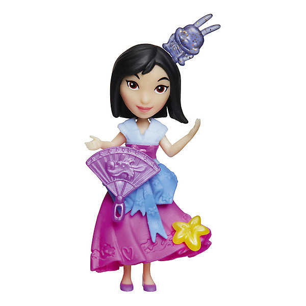 Мини-кукла, Принцессы Дисней, HasbroМини-куклы<br><br>Ширина мм: 176; Глубина мм: 152; Высота мм: 63; Вес г: 100; Возраст от месяцев: 48; Возраст до месяцев: 96; Пол: Женский; Возраст: Детский; SKU: 7193723;
