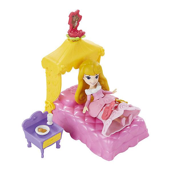 Игровой набор Маленькая кукла Принцесса и сцена из фильма, HasbroПринцессы Дисней<br><br>Ширина мм: 56; Глубина мм: 225; Высота мм: 200; Вес г: 358; Возраст от месяцев: 48; Возраст до месяцев: 96; Пол: Женский; Возраст: Детский; SKU: 7193727;