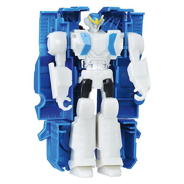 Трансформеры Роботс-ин-Дисгайс Уан-Стэп, HasbroТрансформеры-игрушки<br>Характеристики товара:<br><br>• возраст: от 5 лет;<br>• материал: пластик;<br>• размер упаковки: 17,6х15,2х4,8 см;<br>• вес упаковки: 97 гр.;<br>• страна производитель: Китай.<br><br>Трансформер «Роботс-ин-Дисгайс: Уан-Стэп» Hasbro создан по мотивам мультсериала «Трансформеры: Роботы под прикрытием». Трансформер способен превращаться в транспортное средство. Процесс проходит легко и быстро и не вызывает трудностей у ребенка. На груди каждого робота данной серии имеется наклейка, отсканировав которую при помощи смартфона, можно получить новые возможности в специальном приложении. Игрушка выполнена из качественного прочного пластика.<br><br>Трансформера «Роботс-ин-Дисгайс: Уан-Стэп» Hasbro можно приобрести в нашем интернет-магазине.<br>Ширина мм: 176; Глубина мм: 152; Высота мм: 48; Вес г: 97; Возраст от месяцев: 60; Возраст до месяцев: 120; Пол: Мужской; Возраст: Детский; SKU: 7193730;