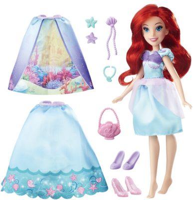 Кукла в платье со сменными юбками, Принцессы Дисней, Hasbro