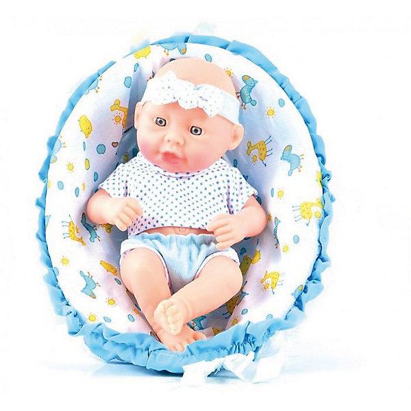 Кукла-пупс DollyToy Моё счастьеКуклы<br>Характеристики товара:<br><br>• возраст: от 3лет;<br>• размер упаковки: 18х10х25 см.;<br>• состав: пластик;<br>• упаковка: картонная коробка;<br>• вес в упаковке: 500 гр.;<br>• бренд, страна: DollyToy, Китай;<br>• страна-производитель: Китай.<br><br>Пупс «Моё счастье» научит вашу девочку уже с самого раннего возраста проявлять материнские чувства и нежную заботу. <br><br>За такой куклой девочке придется тщательно следить и ухаживать: кормить, поить, укладывать спать, а также играть с ней, когда ей станет скучно. Помимо пупса, в наборе также имеется корзиночка для пупсика, которые сделают игру еще интереснее.<br><br>Пупс «Моё счастье» станет отличным подарком для каждой девочки. Он выполнен из высококачественных и экологически чистых материалов, благодаря чему является безопасным для ребенка. <br><br>Игры с таким пупсом развивают логическое мышление, воображение, мелкую моторику и коммуникабельность.<br><br>Пупс «Моё счастье» от DollyToy можно купить в нашем интернет-магазине.<br>Ширина мм: 180; Глубина мм: 100; Высота мм: 250; Вес г: 500; Возраст от месяцев: 36; Возраст до месяцев: 2147483647; Пол: Женский; Возраст: Детский; SKU: 7194122;