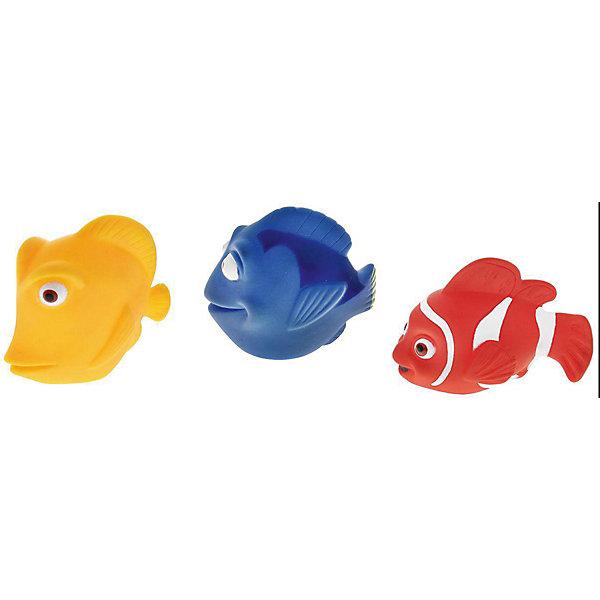 Набор игрушек для ванны Mioshi Коралловый риф, 3 шт.Игрушки для ванной<br>Характеристики товара:<br><br>• возраст: от 1 года;<br>• цвет: красный, синий, желтый;<br>• комплект: 3 рыбки;<br>• размер упаковки: 14х13х9 см.;<br>• состав: ПВХ;<br>• упаковка: сетка;<br>• вес в упаковке: 100 гр.;<br>• бренд, страна: Mioshi Aqua, Китай;<br>• страна-производитель: Китай.<br><br>Игровой набор для купания «Коралловый риф» поможет принимать водные процедуры, которые станут ещё веселее и приятнее. Ваш малыш сможет придумать свои собственные игры с очаровательными представителями подводного мира.<br><br>В комплекте набора маленький исследователь обнаружит трех рыбок причудливой формы: красного, синего и желтого цветов. Все составляющие набора приятны на ощупь, имеют удобную для захвата маленькими пальчиками эргономичную форму и быстро сохнут. Забавным дополнением также будет возможность игрушек брызгать водой при сжатии. Устраивайте водные сражения!<br><br>Игровой набор для купания «Коралловый риф», 3 шт., от Mioshi Aqua можно купить в нашем интернет-магазине.<br>Ширина мм: 140; Глубина мм: 130; Высота мм: 90; Вес г: 100; Возраст от месяцев: 12; Возраст до месяцев: 2147483647; Пол: Унисекс; Возраст: Детский; SKU: 7194134;