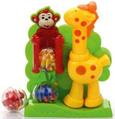 - Развивающая игрушка Малышарики Жираф