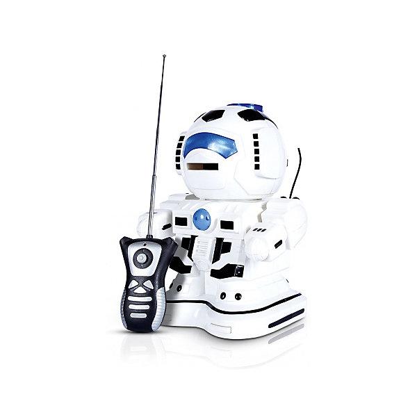 Радиоуправляемый робот Mioshi РобокидРоботы<br>Характеристики товара:<br><br>• возраст: от 3 лет;<br>• размер упаковки: 25х17х28 см.;<br>• состав: пластик;<br>• наличие батареек: не входи в комплект;<br>• упаковка: картонная коробка;<br>• вес в упаковке: 900 гр.;<br>• бренд, страна: Mioshi Active, Китай;<br>• страна-производитель: Китай.<br><br>Робот р/у «Робокид» - многофункциональный робот оснащен свето-звуковым модулем для еще более увлекательной игры всей дружной компании почитателей мира электроники и космоса. <br><br>Робот порадует детишек не только высоким качеством исполнения, оригинальным дизайном, но и функциональными возможностями: оснащением интерактивным модулем, возможностью совершать движения во всех направлениях, вращением на месте, функцией записи воспроизводимого звука и танцевальными способностями под звучание двух музыкальных композиций. <br><br>Комплект: робот, пульт управления, подробная инструкция. Робот работает от 4 батареек типа АА, а пульт - 2 батарейки типа АА (в комплект не входят).<br><br>Игры с таким роботом развивают логическое мышление, воображение, мелкую моторику и коммуникабельность.<br><br>Робот с  управлением «Robobot», высота 26 см., от Mioshi Active можно купить в нашем интернет-магазине.<br>Ширина мм: 250; Глубина мм: 170; Высота мм: 280; Вес г: 900; Возраст от месяцев: 36; Возраст до месяцев: 2147483647; Пол: Унисекс; Возраст: Детский; SKU: 7194160;