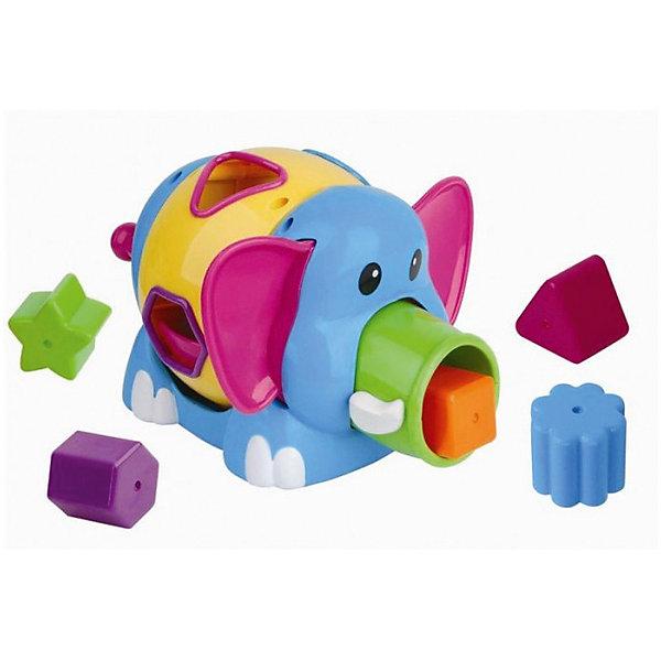 Сортер Mioshi СлоникРазвивающие игрушки<br>Характеристики товара:<br><br>• возраст: от 1 года;<br>• размер упаковки: 23х17х18,5 см.;<br>• состав: пластик;<br>• упаковка: картонная коробка открытого типа;<br>• вес в упаковке: 830 гр.;<br>• бренд, страна: Mioshi, Китай;<br>• страна-производитель: Китай.<br><br>Развивающая игра сортер «Слоник» от Mioshi - Яркий, разноцветный, приятный на ощупь слоник, в который нужно складывать фигурки, станет любимой игрушкой Вашей крохи с первых дней жизни. <br><br>Вместе с наборами Mioshi малютки развивают мелкую моторику, восприятие формы и цвета предметов, а также слух и зрение.<br><br>Игрушки Mioshi созданы специально для малышей, которые только начинают познавать этот волшебный мир. Заботясь об их здоровье и безопасности, Mioshi выпускает только качественную продукцию, которая прошла сертификацию.<br><br>Развивающую игру сортер «Слоник» от Mioshi можно купить в нашем интернет-магазине.<br><br>Ширина мм: 230<br>Глубина мм: 170<br>Высота мм: 185<br>Вес г: 830<br>Возраст от месяцев: 12<br>Возраст до месяцев: 2147483647<br>Пол: Унисекс<br>Возраст: Детский<br>SKU: 7194178