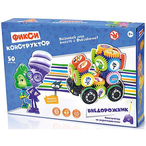 Конструктор Bauer Фиксики Радиоуправляемый внедорожник, 50 деталейДругие радиуправляемые игрушки<br>Характеристики товара:<br><br>• возраст: от 3 лет;<br>• размер упаковки: 43х32х5 см.;<br>• состав: пластик;<br>• наличие батареек: не входят в комплект;<br>• упаковка: картонная коробка;<br>• вес в упаковке: 1 кг.;<br>• бренд, страна: Bauer, Китай;<br>• страна-производитель: Китай.<br><br>Конструктор р/у «Внедорожник. Фикисики» - необычную модель внедорожника вашему малышу помогут собрать любимые герои из одноименного мультфильма - Фиксики.<br><br>На основе фиксируются прямоугольные крепления – это остов будущей машинки. Затем крепяться шестеренки и колеса. В результате машина приобретает необычный внешний вид. Правильно поставленные шестеренки цепляются друг за друга и вращаются, когда внедорожник едет! Кроме того, он издает громкие звуки.<br><br>А привести его в движение очень просто – включите машинку специальным рычажком на корпусе и нажимайте на пульт. У него 2 кнопки: «вперед» и «назад». Устраивайте гонки и проходите сложные препятствия. <br><br>В комплект входит: 50 деталей, инструкция по сборке, наклейки с персонажами мультфильма, пульт дистанционного управления.<br>Работает от 6 батареек АА, не входят в комплект. <br><br>Конструирование развивает у детей логическое и пространственное мышление. Сборка разнообразных моделей улучшает координацию движений и тренирует воображение. Ваш ребенок учится быть аккуратным, терпеливым, самостоятельным.<br><br>Конструктор р/у «Внедорожник. Фикисики», 50 деталей, Bauer можно купить в нашем интернет-магазине.<br><br>Ширина мм: 380<br>Глубина мм: 260<br>Высота мм: 70<br>Вес г: 1003<br>Возраст от месяцев: 36<br>Возраст до месяцев: 2147483647<br>Пол: Унисекс<br>Возраст: Детский<br>SKU: 7194196