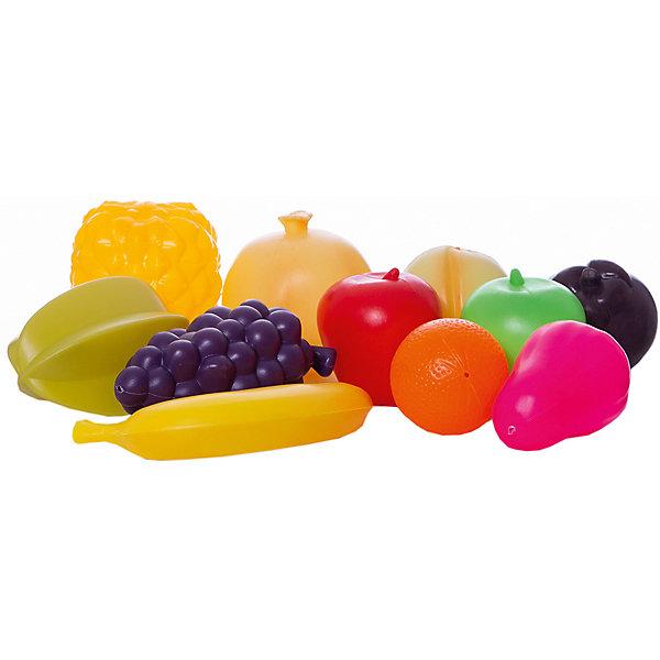 Набор продуктов Altacto Фруктовый микс, 11 предметовИгрушечные продукты питания<br>Характеристики товара:<br><br>• возраст: от 3 лет;<br>• размер упаковки: 29х22х9 см.;<br>• состав: пластик;<br>• упаковка: сетка;<br>• вес в упаковке: 210 гр.;<br>• бренд, страна: ALTACTO, Китай;<br>• страна-производитель: Китай.<br><br>Набор продуктов «Фруктовый микс» от Altacto станет отличным дополнением к ролевым играм вашего малыша. Порадуйте своего малыша таким ярким игровым аксессуаром!<br><br>В наборе 11 видов фруктов красивых, насыщенных цветов, которые выглядят совсем как настоящие!<br><br>Все игрушки выполнены из качественных материалов (экологически чистый пластик) и упакованы в пакет-сетку.<br><br>Набор продуктов «Фруктовый микс», 11 предметов, Altacto можно купить в нашем интернет-магазине.<br>Ширина мм: 290; Глубина мм: 220; Высота мм: 90; Вес г: 210; Возраст от месяцев: 36; Возраст до месяцев: 2147483647; Пол: Унисекс; Возраст: Детский; SKU: 7194200;