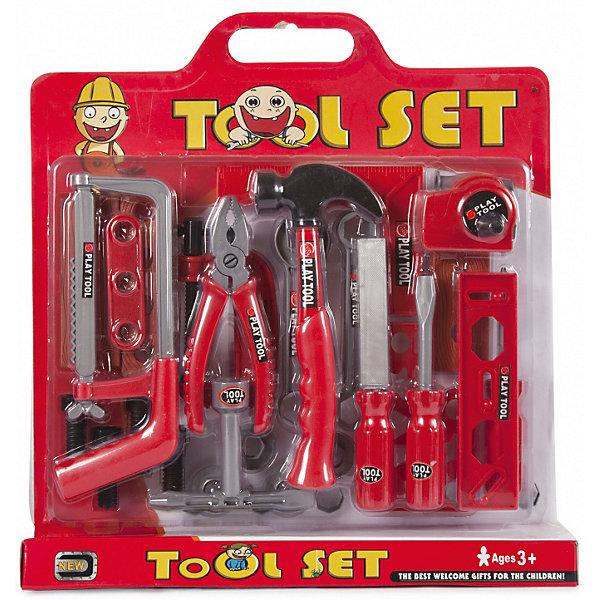 Набор инструментов Altacto Маленький умелец, 29 предметовНаборы инструментов<br>Характеристики товара:<br><br>• возраст: от 3 лет;<br>• размер упаковки: 37х5х39,5 см.;<br>• количество предметов: 29;<br>• состав: пластик;<br>• упаковка: коробка блистерного типа;<br>• вес в упаковке: 400 гр.;<br>• бренд, страна: ALTACTO, Китай;<br>• страна-производитель: Китай.<br><br>Игровой набор «Маленький умелец» от Altacto станет отличным подарком для маленького мастера.<br><br>В наборе имеется все, что может пригодиться юному строителю: молоток, пассатижи, ручная пила, строительный угольник, 3 отвертки, 2 гаечных ключа, рулетка, напильник, струбцина, доски, скобяные изделия.<br><br>Все изделия набора изготовлены из нетоксичного и качественного материала.<br><br>Малыш сможет отремонтировать игрушки и устранить все неисправности в доме, помогая папе. Игры с этим набором способствуют развитию воображения и познавательного мышления.<br><br>Игровой набор «Маленький умелец», 29 предметов, Altacto можно купить в нашем интернет-магазине.<br>Ширина мм: 370; Глубина мм: 50; Высота мм: 395; Вес г: 400; Возраст от месяцев: 36; Возраст до месяцев: 2147483647; Пол: Мужской; Возраст: Детский; SKU: 7194210;