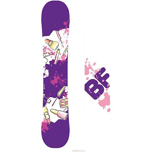 Сноуборд BF snowboards Special Lady lipstick, 138 смЛыжи и сноуборды<br>Характеристики товара:<br><br>• ростовка: 138;<br>• материал: дерево, пластик, сталь, ABS пластик;<br>• прогиб: classic camber;<br>• конструкция: Sandwich, Directional Twin;<br>• сердечник: тополь;<br>• закладные: 4х2;<br>• кант: Steel Edge, 48HRC;<br>• жесткость: средняя;<br>• скользящая поверхность: Extruded;<br>• уровень катания: начинающий/продолжающий;<br>• размер упаковки: 138х27,5х1 см.<br><br>На сноуборде Special Lady Lipstick девушки смогут с лёгкостью кататься и исполнять различные трюки. Сноуборд подходит для обучения азам катания и выполнения более сложных элементов. Универсальный сноуборд имеет зауженную талию. Перекантовка выполняется легко. Сноуборд выполнен в приятной фиолетовой расцветке.<br><br>Сноуборд BF snowboards 2017-18 Special Lady lipstick (см:142) можно купить в нашем интернет-магазине.<br>Ширина мм: 1420; Глубина мм: 274; Высота мм: 8; Вес г: 2000; Возраст от месяцев: 84; Возраст до месяцев: 168; Пол: Женский; Возраст: Детский; SKU: 7195904;