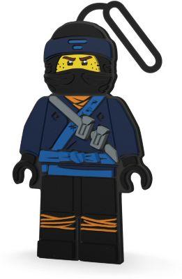 Бирка для багажа LEGO Ninjago Movie, Jay, артикул:7196273 - В дороге