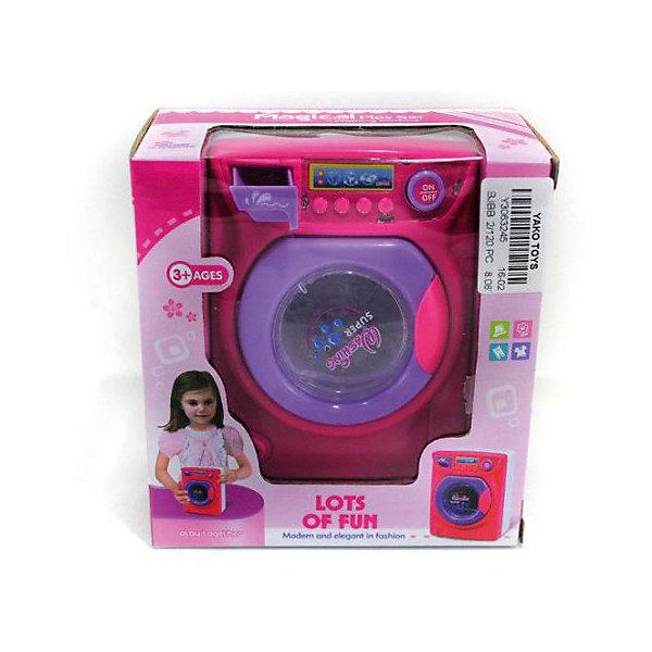 Стиральная машина Shantou Gepai, звукИгрушечная бытовая техника<br>Характеристики:<br><br>• тип игрушки: стиральная машина;<br>• возраст: от 3 лет;<br>• упаковка: пластик;<br>• размер: 14х8х15 см;<br>• вес:  246 гр;<br>• бренд: Shantou Gepai. <br><br>Стиральная машина  станет хорошим подарком для маленькой хозяйки. Такая игрушка поможет девочке овладеть первым бытовыми навыками.  Стиральная машина предназначена для сюжетно-ролевых игр, способствует развитию мышления, фантазии и моторики. <br><br>Удивительная игрушка выполнена из высококачественных материалов, она имеет световые и звуковые эффекты. Благодаря красочной упаковке игрушка отлично подходит в виде подарка для детей от трех лет и старше.<br><br>Стиральную машину можно купить в нашем интернет-магазине.<br>Ширина мм: 140; Глубина мм: 80; Высота мм: 150; Вес г: 246; Возраст от месяцев: 36; Возраст до месяцев: 2147483647; Пол: Женский; Возраст: Детский; SKU: 7196487;