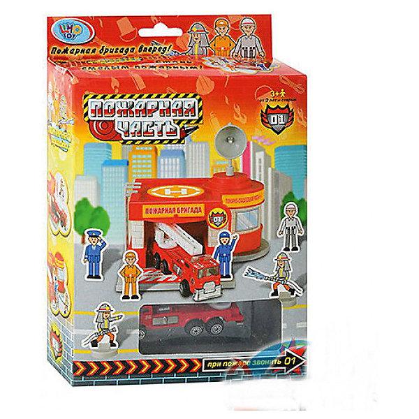 Гараж Shantou Gepai Пожарная частьПарковки и гаражи<br>Характеристики:<br><br>• тип игрушки: гараж;<br>• возраст: от 3 лет;<br>• упаковка: пластик, металл;<br>• размер: 14,5х4,5х22,5 см;<br>• комплектация: пожарная машина с раздвижной лестницей,  6 фигурок пожарных;<br>• вес: 231 гр;<br>• бренд: Shantou Gepai.<br><br>Гараж «Пожарная часть» понравится всем любителям машинок и аксессуаров для них. В этом игровом наборе есть все для увлекательной и интересной игры в настоящих пожарных. Игрушка с подвижными и съемными деталями (пандус поднимается).  В наборе представлены красочные игрушки:  пожарный участок,  пожарная машина с раздвижной лестницей, фигурки пожарных.<br><br>Все детали набора выполнены из безопасного пластика и металлических элементов. Они прошли проверку на безопасность для детей. Набор подходит детей от трех лет и старше. <br><br>Гараж «Пожарная часть» можно купить в нашем интернет-магазине.<br>Ширина мм: 155; Глубина мм: 45; Высота мм: 225; Вес г: 231; Возраст от месяцев: 36; Возраст до месяцев: 2147483647; Пол: Мужской; Возраст: Детский; SKU: 7196513;