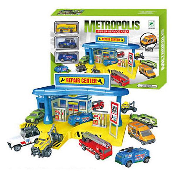 Гараж Shantou Gepai Автомастерская + 3 машинкиПарковки и гаражи<br>Характеристики:<br><br>• тип игрушки: гараж;<br>• возраст: от 3 лет;<br>• упаковка: пластик, металл;<br>• размер: 40х8х26,5 см;<br>• комплектация: гараж, 3 машинки;<br>• вес: 821 гр;<br>• бренд: Shantou Gepai.<br><br> Гараж «Автомастерская», 3 машины – это замечательный подарок тем, кто любит играть в машинки. Ребенок самостоятельно соберет автомастерскую с парковкой, оборудованную всем необходимым. Здесь есть удобные заезды и съезды для машин, заправочная станция. В комплекте - 3 машинки, выполненные в масштабе 1:64.<br><br>Все детали набора выполнены из безопасного пластика и металлических элементов. Они прошли проверку на безопасность для детей. Набор подходит детей от трех лет и старше. <br><br>Гараж «Автомастерская», 3 машины можно купить в нашем интернет-магазине.<br>Ширина мм: 400; Глубина мм: 80; Высота мм: 265; Вес г: 821; Возраст от месяцев: 36; Возраст до месяцев: 2147483647; Пол: Мужской; Возраст: Детский; SKU: 7196531;
