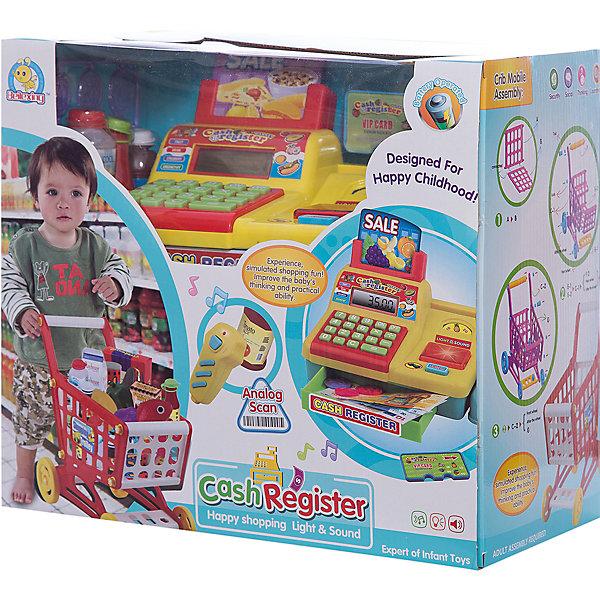 Супермаркет Shantou Gepai с тележкой и аксессуарамиДетский супермаркет<br>Характеристики:<br><br>• тип игрушки: игровой набор;<br>• возраст: от 3 лет;<br>• упаковка: пластик;<br>• размер: 33х19х30 см;<br>• вес: 1,875 кг;<br>• бренд: Shantou Gepai. <br><br>Набор для игры в супермаркет с тележкой и аксессуарами  - это универсальный набор для маленького хозяина магазина.  Он подходит для сюжетно-ролевых игр детей возрастом от трех лет и старше. <br><br>В наборе ребенок найдет корзинку для необходимых продуктов, кассовый аппарат, сканер, который считывает информацию со штрихкода, а также дополнительные аксессуары. Ребенок сможет придумать множество сценариев для сюжетно-ролевой игры и примерить на себя роль покупателя или продавца.<br><br>Набор для игры в супермаркет с тележкой и аксессуарами можно купить в нашем интернет-магазине.<br>Ширина мм: 330; Глубина мм: 190; Высота мм: 300; Вес г: 1875; Возраст от месяцев: 36; Возраст до месяцев: 2147483647; Пол: Женский; Возраст: Детский; SKU: 7196539;