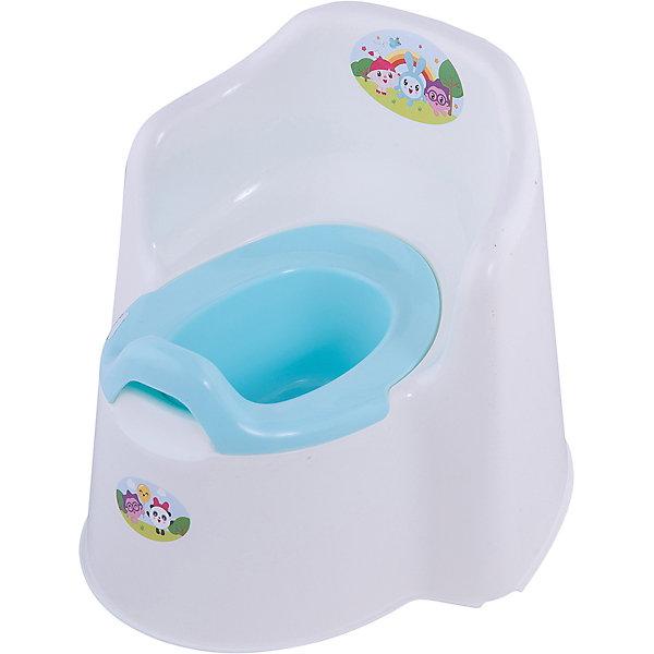 Детский горшок Little Angel Малышарики (молочный)Детские горшки и писсуары<br>Характеристики товара:<br><br>• возраст: от 1 года;<br>• материал: полипропилен;<br>• размер изделия: 36,5х34х31 см;<br>• размер упаковки: 37х34х31 см;<br>• вес упаковки: 806 гр.;<br>• страна производитель: Россия.<br><br>Горшок детский Little King «Малышарики» молочный — удобный горшок, выполненный в виде кресла со спинкой и подлокотниками. Спинка повторяет очертания детской спины. Внутренняя часть легко вынимается для чистки. <br><br>Горшок оснащен системой защиты от брызг, универсальной как для девочек, так и для мальчиков. Горшок имеет вырез на задней стенке, при помощи которого его можно переносить. Выполнен из качественных безопасных материалов.<br><br>Горшок детский Little King «Малышарики» молочный можно приобрести в нашем интернет-магазине.<br>Ширина мм: 37; Глубина мм: 34; Высота мм: 31; Вес г: 806; Цвет: бежевый; Возраст от месяцев: 12; Возраст до месяцев: 3; Пол: Унисекс; Возраст: Детский; SKU: 7196803;
