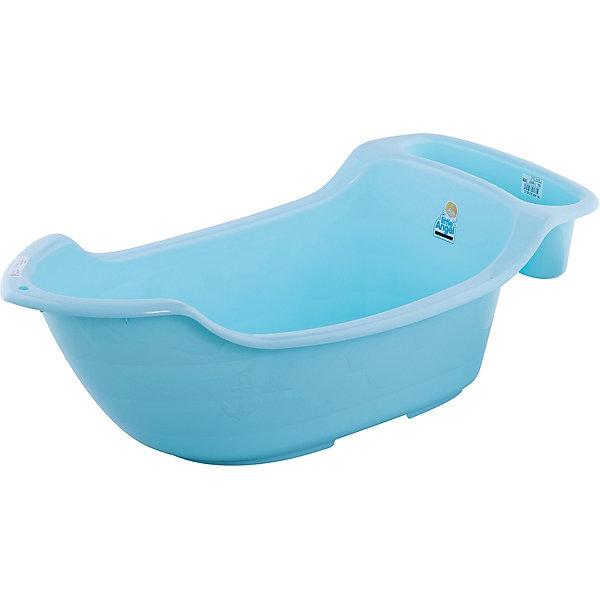 Детская ванночка Little Angel Жемчужинка с карманом, сливом и термометром, 55 л. (бирюзовая)Товары для купания<br>Характеристики товара:<br><br>• возраст: с рождения;<br>• материал: полипропилен, ПВХ;<br>• в комплекте: ванночка, термометр;<br>• объем: 55 литров;<br>• размер упаковки: 106х47х33 см;<br>• вес упаковки: 1,66 кг;<br>• страна производитель: Россия.<br><br>Детская ванночка «Жемчужинка» бирюзовая — удобная ванночка для купания малыша с самого рождения. На дне имеются противоскользящие накладки. Сбоку органайзер, в котором можно хранить предметы для купания и средства гигиены.<br><br>Ванночка дополнена сливом с надежной пробкой. В комплекте термометр, который позволит измерять температуру воды. Выполнена из качественных безопасных материалов.<br><br>Детскую ванночку «Жемчужинка» бирюзовую можно приобрести в нашем интернет-магазине.<br>Ширина мм: 106; Глубина мм: 47; Высота мм: 33; Вес г: 1660; Цвет: синий; Возраст от месяцев: 0; Возраст до месяцев: 3; Пол: Унисекс; Возраст: Детский; SKU: 7196807;