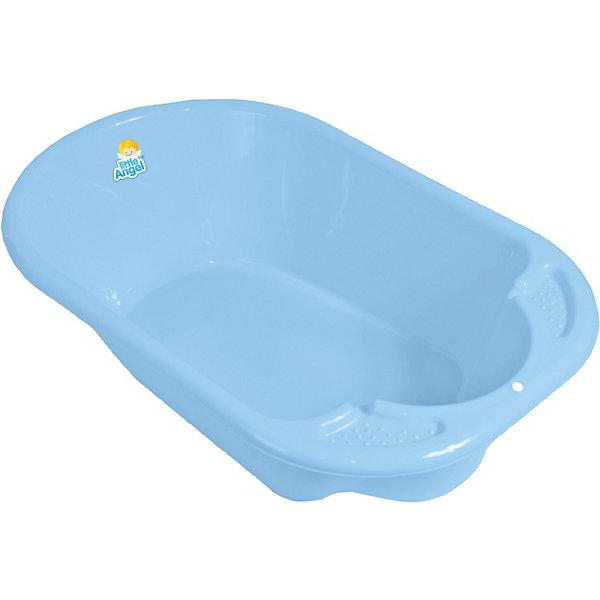 Детская ванночка Little Angel Дельфин (голубая)Товары для купания<br>Характеристики товара:<br><br>• возраст: с рождения;<br>• материал: полипропилен;<br>• длина: 80 см;<br>• размер упаковки: 80х51х25 см;<br>• вес упаковки: 1,07 кг;<br>• страна производитель: Россия.<br><br>Ванночка детская «Дельфин» голубая — удобная ванночка для купания и водных процедур малыша с самого рождения. Большие габариты позволяют использовать ее даже для крупных деток, весом до 11 кг. <br><br>Ванночка оснащена эргономичным углублением, которое поддерживает спинку малыша в правильном положении. Выполнена из качественных безопасных материалов.<br><br>Ванночку детскую «Дельфин» голубую можно приобрести в нашем интернет-магазине.<br>Ширина мм: 80; Глубина мм: 51; Высота мм: 25; Вес г: 1070; Цвет: голубой; Возраст от месяцев: 0; Возраст до месяцев: 3; Пол: Унисекс; Возраст: Детский; SKU: 7196813;