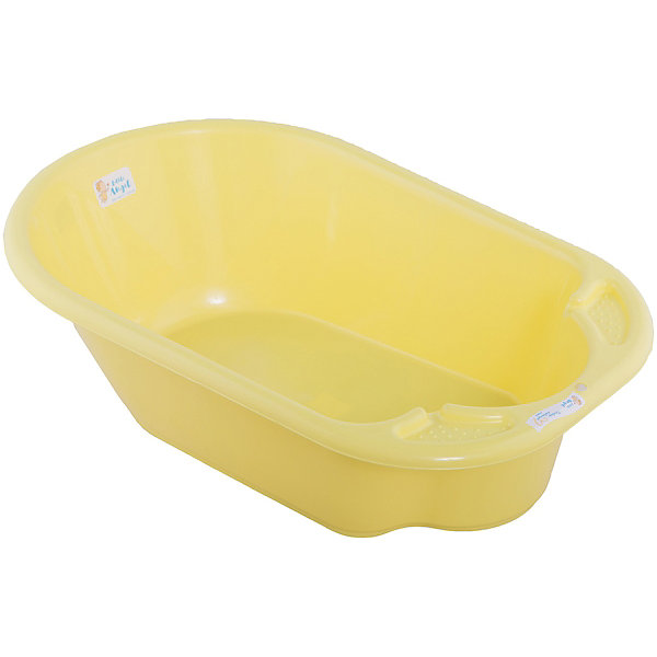 Детская ванночка Little Angel Дельфин (желтая)Товары для купания<br>Характеристики товара:<br><br>• возраст: с рождения;<br>• материал: полипропилен;<br>• длина: 80 см;<br>• размер упаковки: 80х51х25 см;<br>• вес упаковки: 1,07 кг;<br>• страна производитель: Россия.<br><br>Ванночка детская «Дельфин» желтая — удобная ванночка для купания и водных процедур малыша с самого рождения. Большие габариты позволяют использовать ее даже для крупных деток, весом до 11 кг. <br><br>Ванночка оснащена эргономичным углублением, которое поддерживает спинку малыша в правильном положении. Выполнена из качественных безопасных материалов.<br><br>Ванночку детскую «Дельфин» желтую можно приобрести в нашем интернет-магазине.<br><br>Ширина мм: 80<br>Глубина мм: 51<br>Высота мм: 25<br>Вес г: 1070<br>Цвет: желтый<br>Возраст от месяцев: 0<br>Возраст до месяцев: 3<br>Пол: Унисекс<br>Возраст: Детский<br>SKU: 7196816