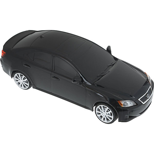 Радиоуправляемая машина Rastar Lexus is 350, 1:24 (черная)Радиоуправляемые машины<br>Характеристики:<br><br>• радиоуправляемая машинка на пульте управления;<br>• частота 27MHz;<br>• радиус действия пульта: до 45 м;<br>• время непрерывной работы: 45 минут;<br>• независимая система подвески;<br>• движение вперед-назад, повороты вправо-влево;<br>• во время движения светятся фары;<br>• скорость движения: 7 км/ч;<br>• масштаб: 1:24;<br>• тип батареек: 4 шт. типа АА (автомобиль) + 1 шт. 9V (пульт управления);<br>• батарейки приобретаются отдельно;<br>• материал: металл, пластик, резина;<br>• длина машинки: 20 см;<br>• вес машинки: 210 г;<br>• размер упаковки: 27х13х11 см; <br>• вес в упаковке: 450 г.<br><br>Радиоуправляемая машинка Rastar Lexus разгоняется до скорости 7 км/ч, может ехать влево, вправо, вперед и назад. Пульт управления позволяет задать желаемое направление движения, кнопки выполнены в виде стрелочек. Радиус действия пульта составляет 45 м. Автомобиль со светом заметно в темное время суток: полноценные фары светятся во время движения машинки. В процессе игры с автомобилем Лексус развивается координация движений, реакция, маневренность.<br><br>Машину  р/у Rastar Lexus is 350 1:24, со светом, цвет черный можно купить в нашем интернет-магазине.<br><br>Ширина мм: 270<br>Глубина мм: 130<br>Высота мм: 110<br>Вес г: 450<br>Возраст от месяцев: 48<br>Возраст до месяцев: 120<br>Пол: Мужской<br>Возраст: Детский<br>SKU: 7196999