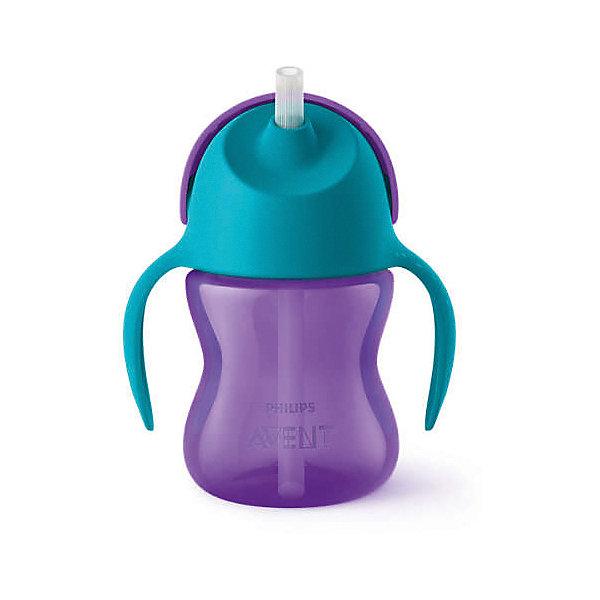 Чашка-поильник с трубочкой Philips Avent, 200 мл, голубой/сиреневыйПоильники<br>Характеристики:<br><br>• чашка-поильник для детей от 9 месяцев;<br>• трубочка с клапаном, который предотвращает протекание жидкости;<br>• защелкивающаяся крышка;<br>• легко мыть и собирать;<br>• материал: полипропилен;<br>• не содержит бисфенол-А;<br>• объем поильника: 200 мл.<br><br>Чашка-поильник облегчает переход от бутылочки к взрослой чашке. Специальный клапан в трубочке позволяет предотвратить протекание жидкости. Защелкивающаяся крышка защищает трубочку и предотвращает протекание жидкости во время переноски. Поильник совместим со всеми бутылочками Philips Avent серий Natural и Classic+ (за исключением стеклянных), а также со всеми чашками (за исключением «взрослых» чашек).<br><br>Чашку-поильник с трубочкой Philips Avent, 200 мл, голубой/сиреневый можно купить в нашем интернет-магазине.<br>Ширина мм: 111; Глубина мм: 81; Высота мм: 138; Вес г: 126; Цвет: blau/gelb; Возраст от месяцев: 9; Возраст до месяцев: 36; Пол: Унисекс; Возраст: Детский; SKU: 7197076;