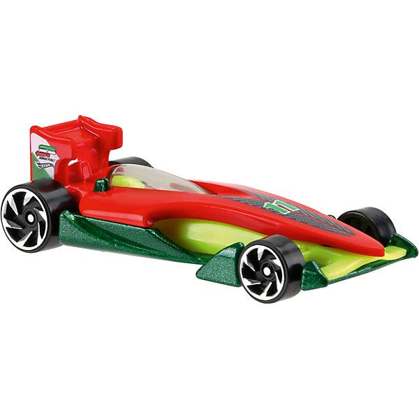 Базовая машинка Hot Wheels, Speedy PerezМашинки<br>Характеристики:<br><br>• возраст: от 3 лет;<br>• тип игрушки: легковой транспорт;<br>• цвет: красный, зеленый, салатовый;<br>• особенности: инерционная;<br>• материал: пластик, металл; <br>• размер: 11х4,5х11 см;<br>• вес: 30 гр;<br>• страна бренда: США;<br>• страна производитель: Китай;<br>• тип упаковки: блистер на картоне;<br>• эффекты: без эффектов.<br><br><br>Гоночная машинка Hot Wheels позволяет устроить настоящие гоночные соревнования. Спортивное очертание автомобиля сделано точь-в-точь как у настоящего спорткара в масштабе 1:64. Корпус изготовлен из сочетания пластика и металла, что гарантирует прочность и устойчивость к столкновениям. Он раскрашен в красный, зеленый и салатовый цвета. Серебристые диски на черных колесах не смогут не привлечь внимание мальчика.<br><br>Яркая игрушка станет отличным подарком для ребенка от трех лет. Кроме того, малыш сможет собрать целую коллекцию этих популярных машинок и обмениваться ими с друзьями. Машинка Hot Wheels из базовой коллекции считается гоночным авто, ведь она может развить высокую скорость. Салон спорткара имеет яркий и красивый дизайн. Прозрачное стекло позволяет заглянуть в него.<br><br>Машинку Hot Wheels из базовой коллекции можно купить в нашем интернет-магазине.<br>Ширина мм: 110; Глубина мм: 45; Высота мм: 110; Вес г: 30; Возраст от месяцев: 36; Возраст до месяцев: 96; Пол: Мужской; Возраст: Детский; SKU: 7198107;