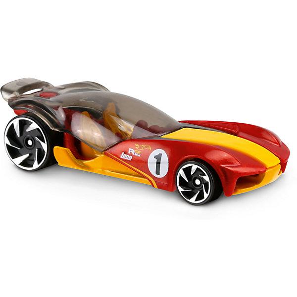 Базовая машинка Hot Wheels, Sky DomeПопулярные игрушки<br>Характеристики:<br><br>• возраст: от 3 лет;<br>• тип игрушки: легковой транспорт;<br>• цвет: красный, желтый;<br>• особенности: инерционная;<br>• материал: пластик, металл; <br>• размер: 11х4,5х11 см;<br>• вес: 30 гр;<br>• страна бренда: США;<br>• страна производитель: Китай;<br>• тип упаковки: блистер на картоне;<br>• эффекты: без эффектов.<br><br><br>Машинка Hot Wheels Sky Dome бренда Mattel представляет собой супермощный автомобиль, который станет достойным пополнением автопарка мальчика. Легендарная серия коллекционных машинок завоевала внимание всех детей. Быстрые и красочные  машинки Hot Wheels выглядят очень ярко и эффектно благодаря оригинальному дизайну. Они выполнены из металла и пластика, что гарантирует прочность и устойчивость к столкновениям. <br><br>Машинка раскрашена в красный и желтый цвета. Автомобиль создан из проверенных и безопасных материалов. Его особенность – откидной прозрачный верх, высокая скорость и крутой дизайн. Мощные задние колеса делают машину Sky Dome немного футуристической, а броская окраска корпуса только еще больше подчеркивает необычность этой машинки. Игрушка выполнена из безопасных и нетоксичных материалов.<br><br>Стильная игрушка станет отличным подарком для ребенка от трех лет. Кроме того, малыш сможет собрать целую коллекцию этих популярных машинок и обмениваться ими с друзьями. Машинка Hot Wheels Sky Dome во время гонки не оставит равнодушным ни одного мальчика. <br><br>Машинку Hot Wheels Sky Dome можно купить в нашем интернет-магазине.<br><br>Ширина мм: 110<br>Глубина мм: 45<br>Высота мм: 110<br>Вес г: 30<br>Возраст от месяцев: 36<br>Возраст до месяцев: 96<br>Пол: Мужской<br>Возраст: Детский<br>SKU: 7198109