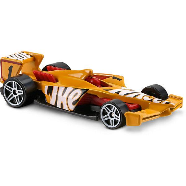 Базовая машинка Hot Wheels, Winning FormulaМашинки<br>Характеристики:<br><br>• возраст: от 3 лет;<br>• тип игрушки: легковой транспорт;<br>• цвет: желтый;<br>• особенности: инерционная;<br>• материал: пластик, металл; <br>• размер: 11х4,5х11 см;<br>• вес: 30 гр;<br>• страна бренда: США;<br>• страна производитель: Китай;<br>• тип упаковки: блистер на картоне;<br>• эффекты: без эффектов.<br><br><br>Машинка Hot Wheels Winning Formula бренда Mattel представляет собой уменьшенную копию гоночного автомобиля, который станет достойным пополнением автопарка мальчика. Легендарная серия коллекционных машинок завоевала внимание всех детей. Быстрые и красочные  машинки Hot Wheels выглядят очень ярко и эффектно благодаря оригинальному дизайну. Они выполнены из металла и пластика, что гарантирует прочность и устойчивость к столкновениям. <br><br>Машинка раскрашена в желтый цвет. Автомобиль создан из проверенных и безопасных материалов. Его особенность – плоский корпус с низкой посадкой и широкие резиновые колеса. Сочетание желтого и красного цветов на корпусе машинки, вместе с крупными надписями «Hot Wheels» - говорит о скорости и победе. Игрушка выполнена из безопасных и нетоксичных материалов.<br><br>Стильная игрушка станет отличным подарком для ребенка от трех лет. Кроме того, малыш сможет собрать целую коллекцию этих популярных машинок и обмениваться ими с друзьями. Машинка Hot Wheels Winning Formula  во время гонки не оставит равнодушным ни одного мальчика. <br><br>Машинку Hot Wheels Winning Formula  можно купить в нашем интернет-магазине.<br><br>Ширина мм: 110<br>Глубина мм: 45<br>Высота мм: 110<br>Вес г: 30<br>Возраст от месяцев: 36<br>Возраст до месяцев: 96<br>Пол: Мужской<br>Возраст: Детский<br>SKU: 7198111