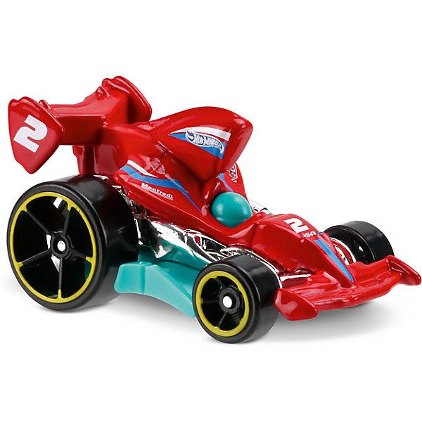 Базовая машинка Hot Wheels, Tarmac AttackПопулярные игрушки<br>Характеристики:<br><br>• возраст: от 3 лет;<br>• тип игрушки: легковой транспорт;<br>• цвет: красный;<br>• особенности: инерционная;<br>• материал: пластик, металл; <br>• размер: 11х4,5х11 см;<br>• вес: 30 гр;<br>• страна бренда: США;<br>• страна производитель: Китай;<br>• тип упаковки: блистер на картоне;<br>• эффекты: без эффектов.<br><br><br>Машинка Hot Wheels Tarmac Attack бренда Mattel представляет собой гоночный автомобиль, который станет достойным пополнением автопарка мальчика. Легендарная серия коллекционных машинок завоевала внимание всех детей. Быстрые и красочные  машинки Hot Wheels выглядят очень ярко и эффектно благодаря оригинальному дизайну. Они выполнены из металла и пластика, что гарантирует прочность и устойчивость к столкновениям. <br><br>Двухместная машинка раскрашена в красный цвет. Автомобиль создан из проверенных и безопасных материалов. Его особенность – необычная форма кузова, яркий цвет и крутящиеся колеса. Устойчивость, компактность и маневренность стильной машинки позволят ей стать участником захватывающих гонок.  Игрушка выполнена из безопасных и нетоксичных материалов.<br><br>Стильная игрушка станет отличным подарком для ребенка от трех лет. Кроме того, малыш сможет собрать целую коллекцию этих популярных машинок и обмениваться ими с друзьями. Машинка Hot Wheels Tarmac Attack во время гонки не оставит равнодушным ни одного мальчика. <br><br>Машинку Hot Wheels Tarmac Attack  можно купить в нашем интернет-магазине.<br>Ширина мм: 110; Глубина мм: 45; Высота мм: 110; Вес г: 30; Возраст от месяцев: 36; Возраст до месяцев: 96; Пол: Мужской; Возраст: Детский; SKU: 7198114;