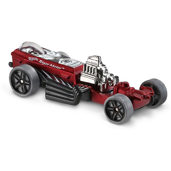 Базовая машинка Hot Wheels, Rigor MotorПопулярные игрушки<br>Характеристики:<br><br>• возраст: от 3 лет;<br>• тип игрушки: легковой транспорт;<br>• цвет: красный;<br>• особенности: инерционная;<br>• материал: пластик, металл; <br>• размер: 11х4,5х11 см;<br>• вес: 30 гр;<br>• страна бренда: США;<br>• страна производитель: Китай;<br>• тип упаковки: блистер на картоне;<br>• эффекты: без эффектов.<br><br><br>Машинка Hot Wheels Rigor Motor бренда Mattel представляет собой масштабный автомобиль, который станет достойным пополнением автопарка мальчика. Легендарная серия коллекционных машинок завоевала внимание всех детей. Быстрые и красочные  машинки Hot Wheels выглядят очень ярко и эффектно благодаря оригинальному дизайну. Они выполнены из металла и пластика, что гарантирует прочность и устойчивость к столкновениям. <br><br>Машинка раскрашена в красный цвет. Автомобиль создан из проверенных и безопасных материалов. Его особенность – детализированный дизайн и мощный хромированный мотор. Свободно крутящиеся колеса машинки позволяют наслаждаться эффектным видом коллекционной модельки.  Игрушка выполнена из безопасных и нетоксичных материалов.<br><br>Стильная игрушка станет отличным подарком для ребенка от трех лет. Кроме того, малыш сможет собрать целую коллекцию этих популярных машинок и обмениваться ими с друзьями. Машинка Hot Wheels Rigor Motor во время гонки не оставит равнодушным ни одного мальчика. <br><br>Машинку Hot Wheels Rigor Motor можно купить в нашем интернет-магазине.<br><br>Ширина мм: 110<br>Глубина мм: 45<br>Высота мм: 110<br>Вес г: 30<br>Возраст от месяцев: 36<br>Возраст до месяцев: 96<br>Пол: Мужской<br>Возраст: Детский<br>SKU: 7198116