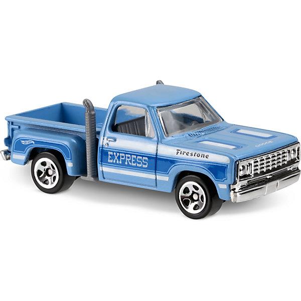 Базовая машинка Hot Wheels, 1978 Dodge Lil Red Express TruckПопулярные игрушки<br>Характеристики:<br><br>• возраст: от 3 лет;<br>• тип игрушки: грузовичок;<br>• цвет: голубой;<br>• особенности: инерционная;<br>• материал: пластик, металл; <br>• размер: 11х4,5х11 см;<br>• вес: 30 гр;<br>• страна бренда: США;<br>• страна производитель: Китай;<br>• тип упаковки: блистер на картоне;<br>• эффекты: без эффектов.<br><br><br>Машинка Hot Wheels «1978 Dodge Lil Red Express Truck» бренда Mattel представляет собой грузовичок, который станет достойным пополнением автопарка  мальчика. Легендарная серия коллекционных машинок завоевала внимание всех детей. Быстрые и красочные  машинки Hot Wheels выглядят очень ярко и эффектно благодаря оригинальному дизайну. Они выполнены из металла и пластика, что гарантирует прочность и устойчивость к столкновениям. <br><br>Машинка раскрашена в голубой цвет. Автомобиль создан из проверенных и безопасных материалов. Особенность грузовичка  – сила и скорость, а также детальная проработка элементов. Игрушка выполнена из безопасных и нетоксичных материалов.<br><br>Стильная игрушка станет отличным подарком для ребенка от трех лет. Кроме того, малыш сможет собрать целую коллекцию этих популярных машинок и обмениваться ими с друзьями. Машинка Hot Wheels «1978 Dodge Lil Red Express Truck» во время гонки не оставит равнодушным ни одного мальчика. <br><br>Машинку Hot Wheels «1978 Dodge Lil Red Express Truck» можно купить в нашем интернет-магазине.<br><br>Ширина мм: 110<br>Глубина мм: 45<br>Высота мм: 110<br>Вес г: 30<br>Возраст от месяцев: 36<br>Возраст до месяцев: 96<br>Пол: Мужской<br>Возраст: Детский<br>SKU: 7198119