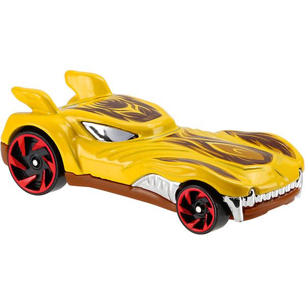 Базовая машинка Hot Wheels, Howlin HeatМашинки<br>Характеристики:<br><br>• возраст: от 3 лет;<br>• тип игрушки: легковой транспорт;<br>• цвет: желтый;<br>• особенности: инерционная;<br>• материал: пластик, металл; <br>• размер: 11х4,5х11 см;<br>• вес: 30 гр;<br>• страна бренда: США;<br>• страна производитель: Китай;<br>• тип упаковки: блистер на картоне;<br>• эффекты: без эффектов.<br><br><br>Машинка Hot Wheels «Howlin Heat» бренда Mattel представляет собой гоночный автомобиль-монстр, который станет достойным пополнением автопарка  мальчика. Легендарная серия коллекционных машинок завоевала внимание всех детей. Быстрые и красочные  машинки Hot Wheels выглядят очень ярко и эффектно благодаря оригинальному дизайну. Они выполнены из металла и пластика, что гарантирует прочность и устойчивость к столкновениям. <br><br>Машинка раскрашена в желтый цвет. Автомобиль создан из проверенных и безопасных материалов. Его особенность - необычный дизайн и форма. Тщательная проработка деталей, яркая расцветка, острые клыки и крылья, украшающие крышу машинки, делают игрушку достойным объектом коллекционирования. Черные колеса с красными дисками могут развивать невероятную скорость. Задние колеса в два раза больше передних, а днище – литое. Игрушка-монстр выполнена из безопасных и нетоксичных материалов.<br><br>Стильная игрушка станет отличным подарком для ребенка от трех лет. Кроме того, малыш сможет собрать целую коллекцию этих популярных машинок и обмениваться ими с друзьями. Машинка Hot Wheels «Howlin Heat» во время гонки не оставит равнодушным ни одного мальчика. <br><br>Машинку Hot Wheels «Howlin Heat» можно купить в нашем интернет-магазине.<br><br>Ширина мм: 110<br>Глубина мм: 45<br>Высота мм: 110<br>Вес г: 30<br>Возраст от месяцев: 36<br>Возраст до месяцев: 96<br>Пол: Мужской<br>Возраст: Детский<br>SKU: 7198128