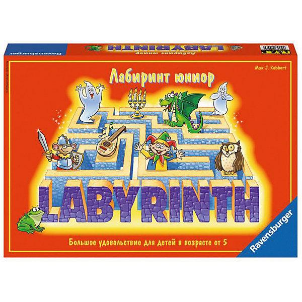 Настольная игра Ravensburger Детский лабиринтНастольные игры ходилки<br>Характеристики товара:<br><br>• возраст: от 5 лет;<br>• комплект: игровое поле, 17 карточек с изображением ходов лабиринта, 12 секретных фишек, 4 привидения;<br>• количество предполагаемых игроков: 2-4;<br>• время игры: 15 мин;<br>•размер упаковки: 34х23х6 см;<br>• упаковка: картонная коробка;<br>• страна обладатель бренда: Германия.<br><br>«Детский лабиринт» - это вариант немецкой игры-легенды «Сумасшедший лабиринт» для самых маленьких. Игроки вместе с персонажами-приведениями должны перемещать стены лабиринта, чтобы освободить себе дорогу и найти заветные сокровища. В игре побеждает тот участник, кто первым соберет больше сокровищ и раньше всех вернется на исходную позицию.<br><br>Настольную игру Детский Лабиринт можно купить в нашем интернет-магазине.<br><br>Ширина мм: 340<br>Глубина мм: 60<br>Высота мм: 230<br>Вес г: 757<br>Возраст от месяцев: 48<br>Возраст до месяцев: 2147483647<br>Пол: Унисекс<br>Возраст: Детский<br>SKU: 7198175